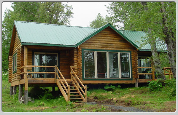 Lodge with Private Cabins